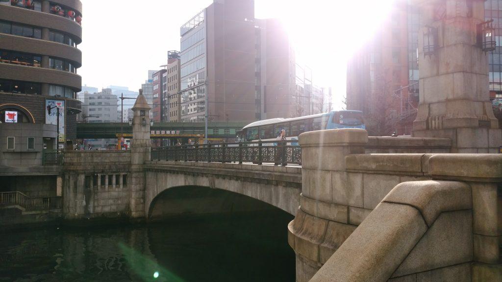 神田川に架かる万世橋