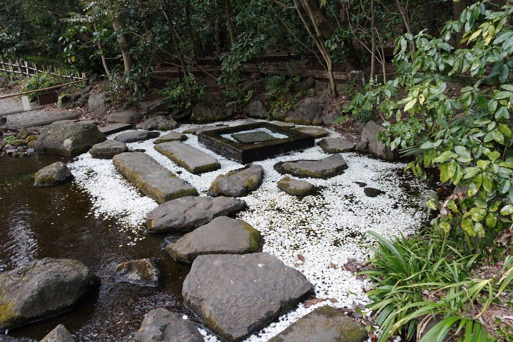 井の頭公園内 お茶の水(湧き水)
