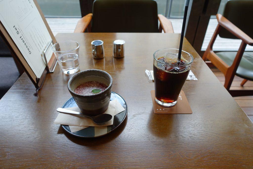 mAAchフクモリで喫茶