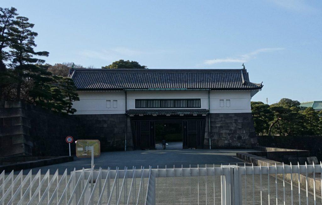 東京皇居坂下門