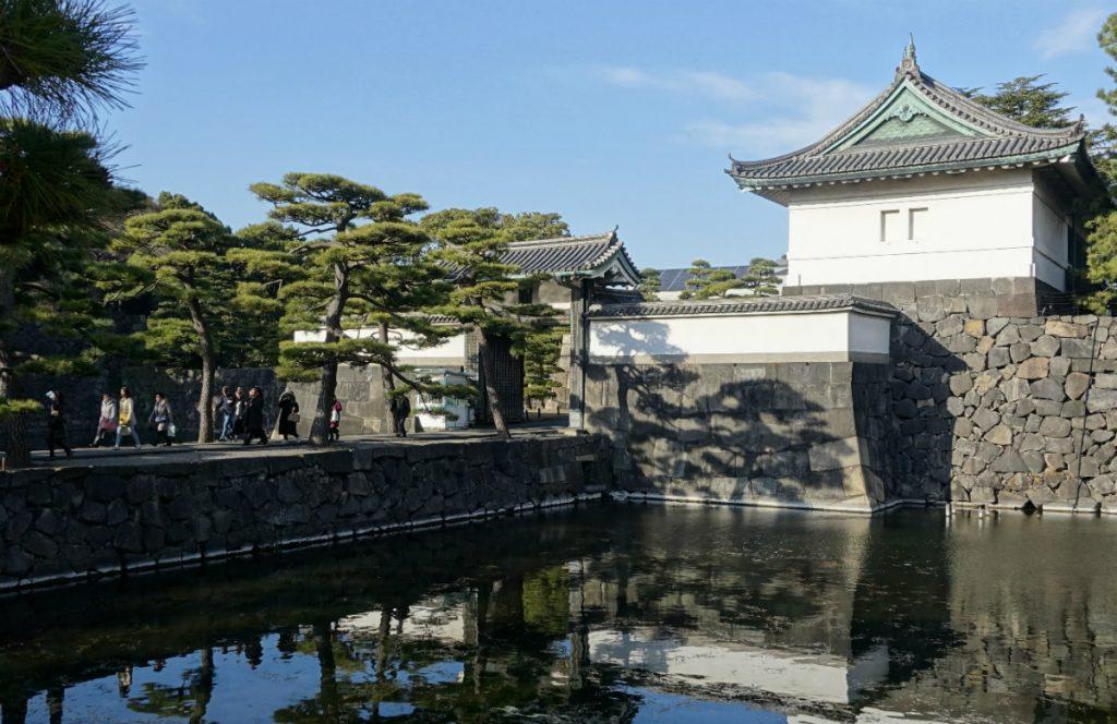 東京皇居桔梗門