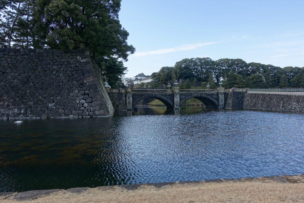 東京皇居正門石橋