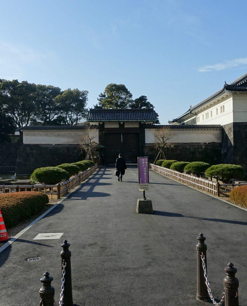 東京皇居大手門