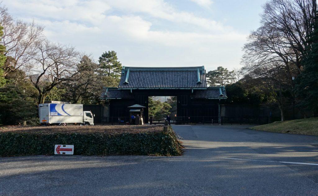 東京皇居乾門