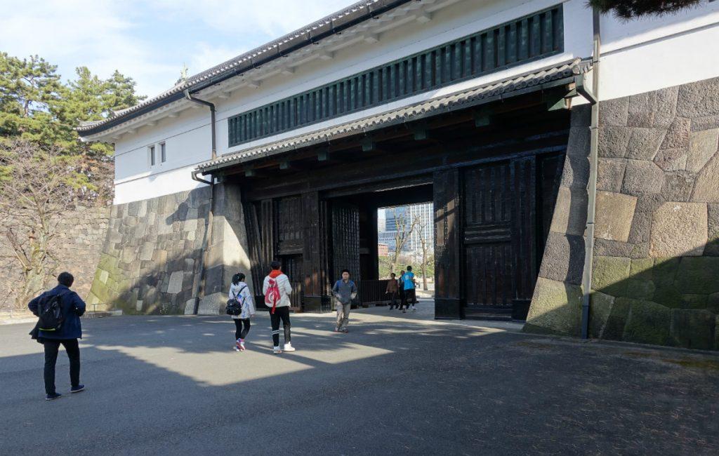 東京皇居外桜田門渡櫓門