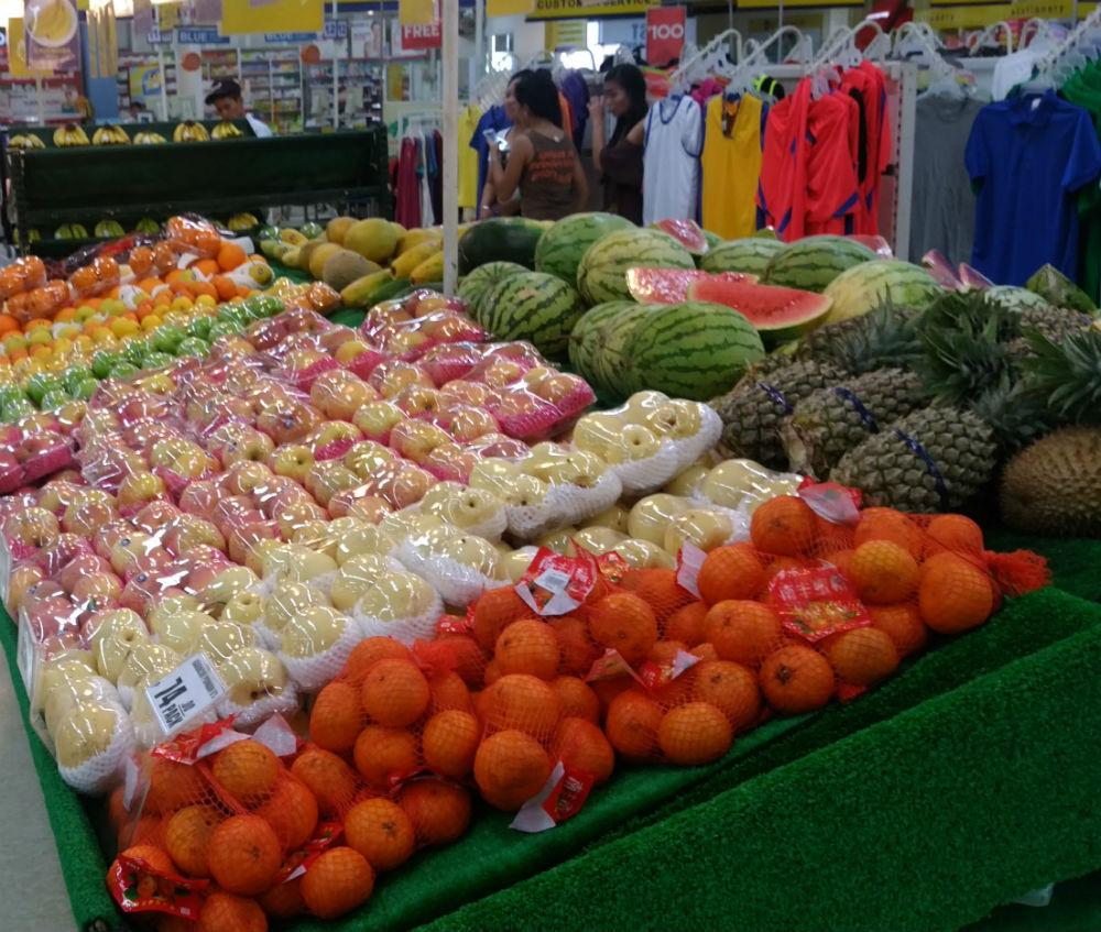 セブ 果物たち