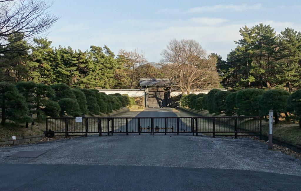 東京皇居 半蔵門