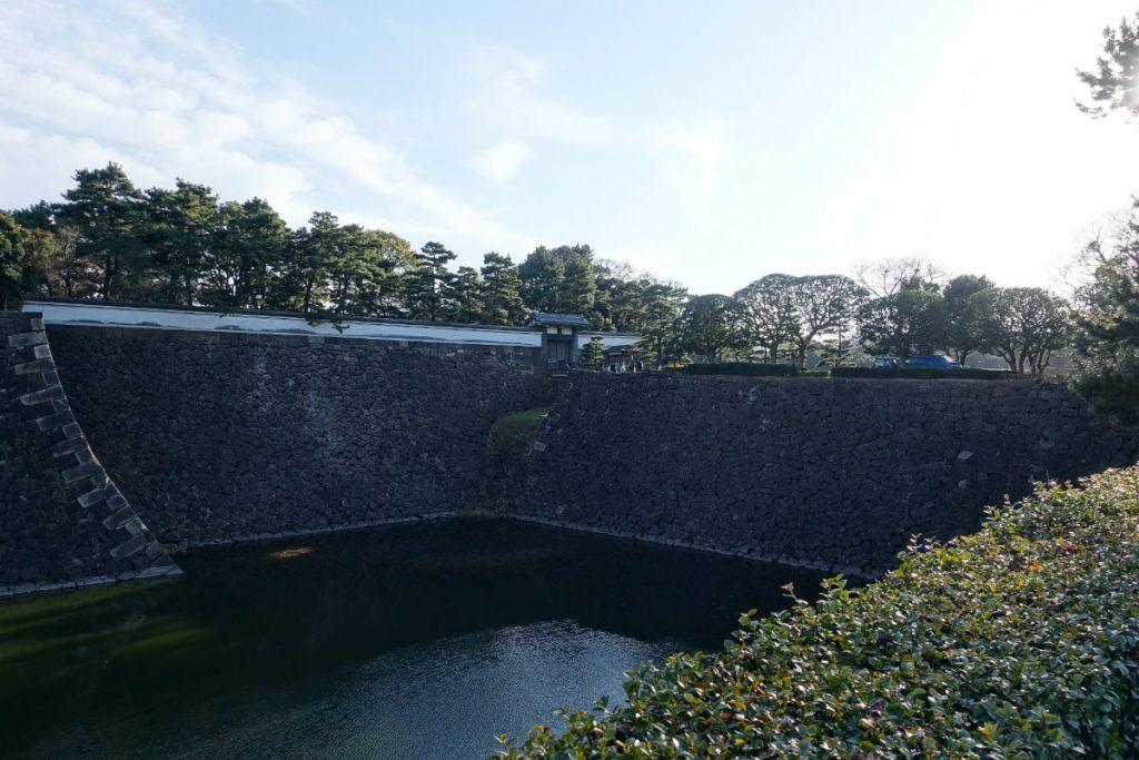 東京皇居北桔橋門