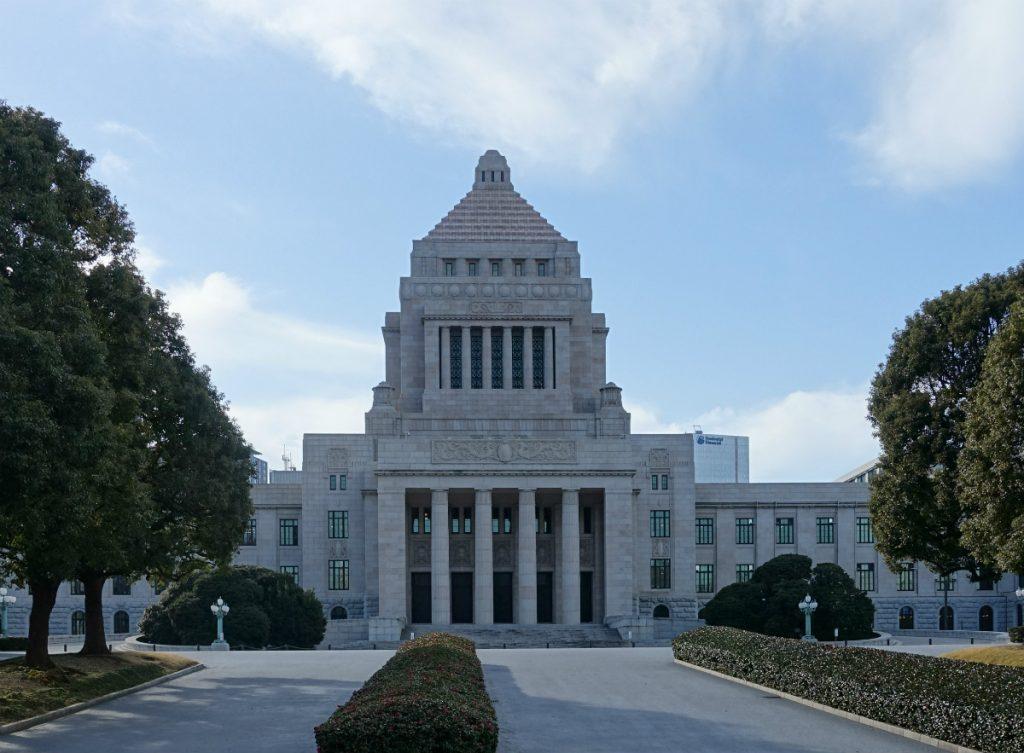 東京国会議事堂 正面