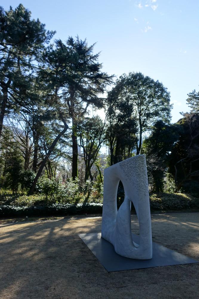 東京都庭園美術館 庭園モニュメント