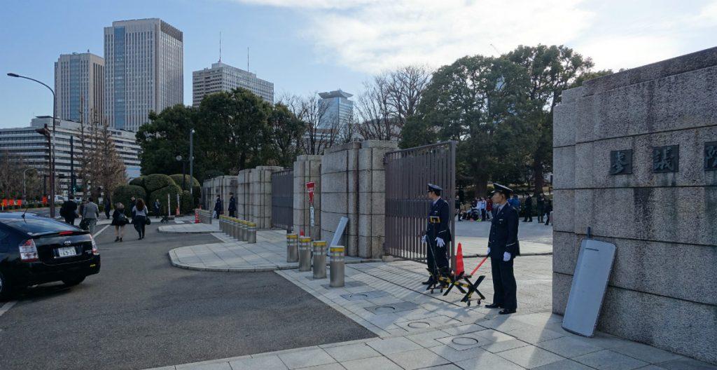 東京国会議事堂参議院入口