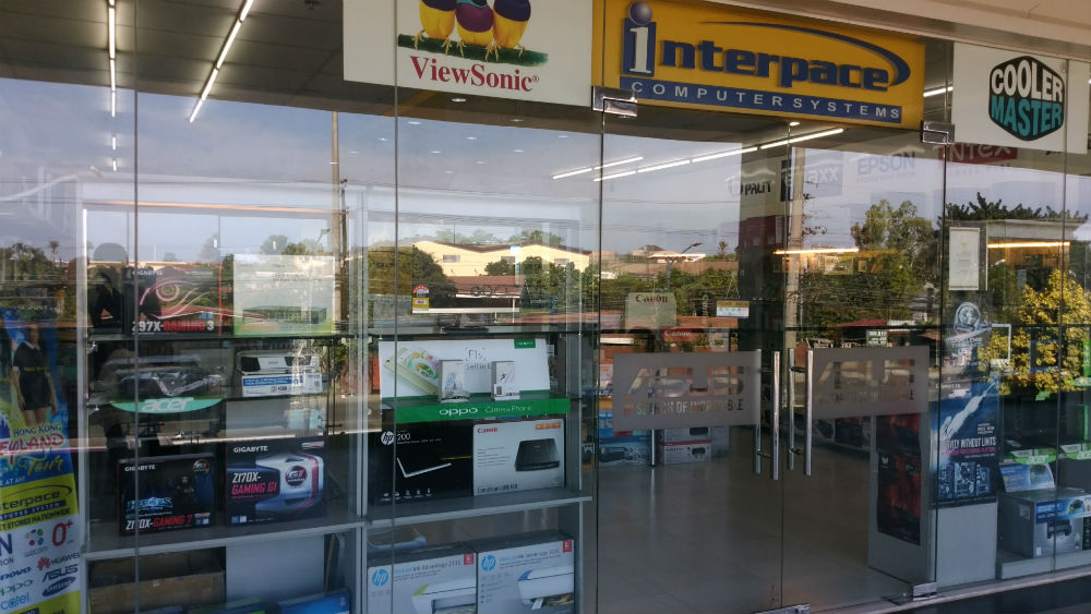 Insular square mall内のPC店