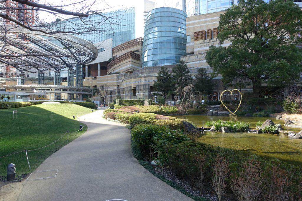 東京六本木ヒルズ毛利庭園