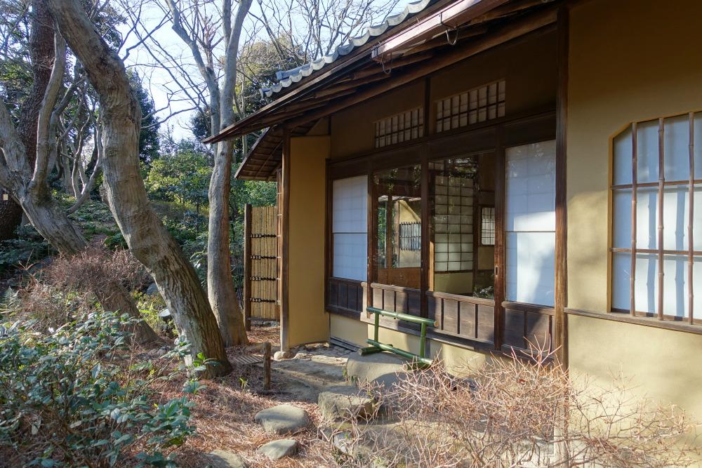 東京都庭園美術館 茶室近景