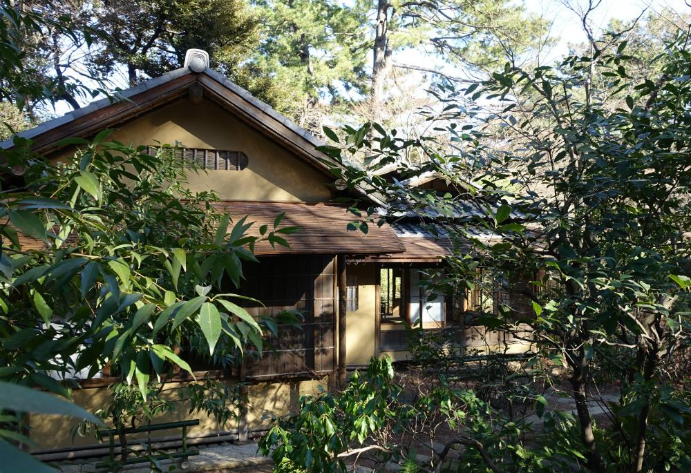 東京都庭園美術館 茶室