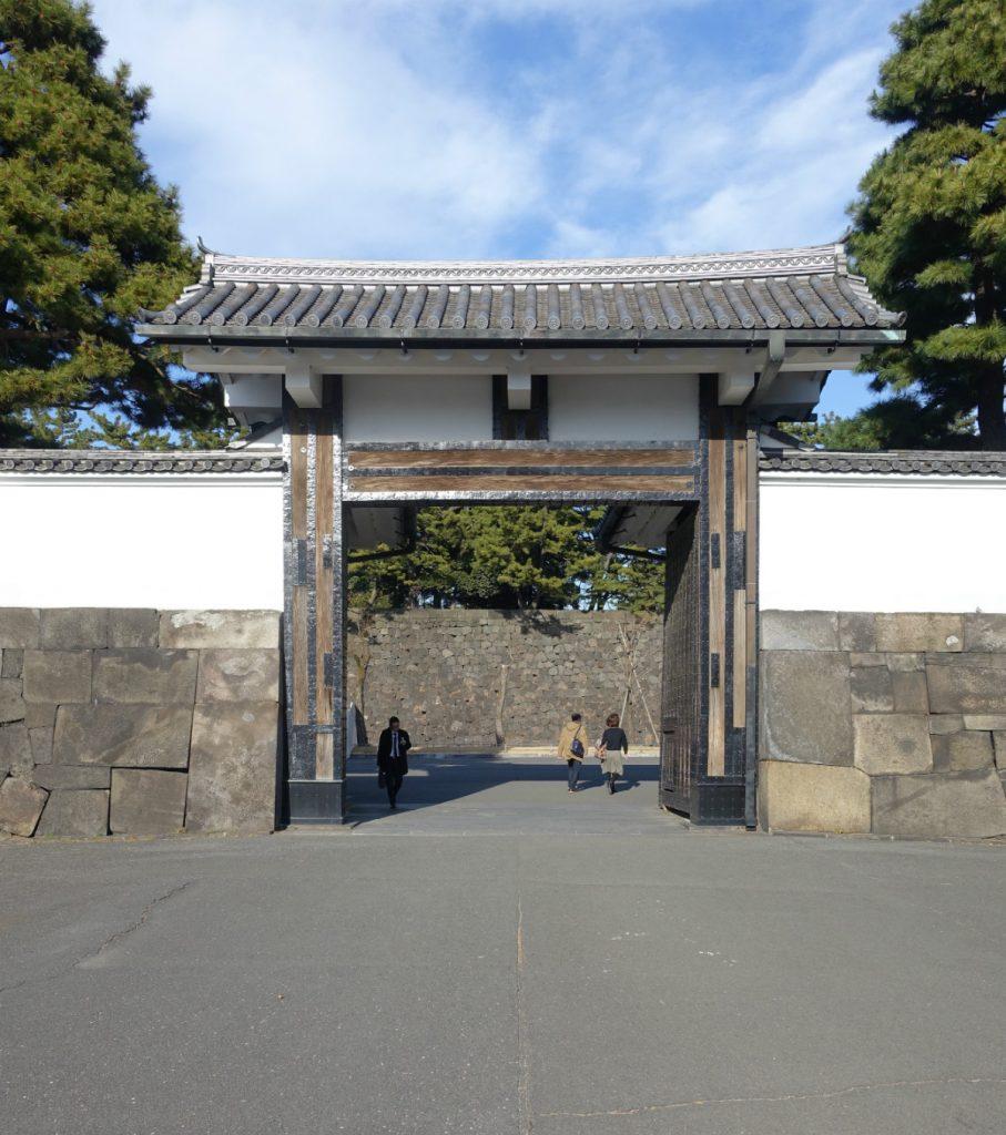 東京皇居桜田門