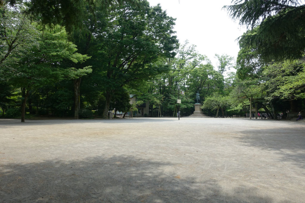 有栖川宮記念公園の広場