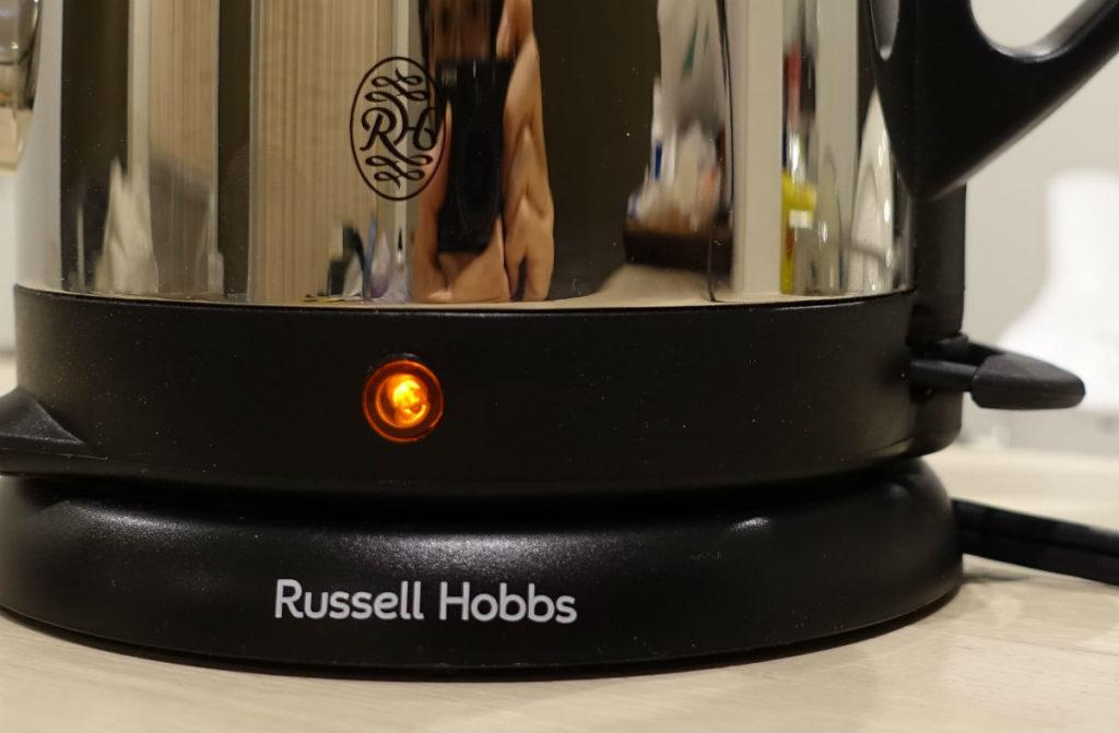 Russell Hobbs 7410JP 電源投入中