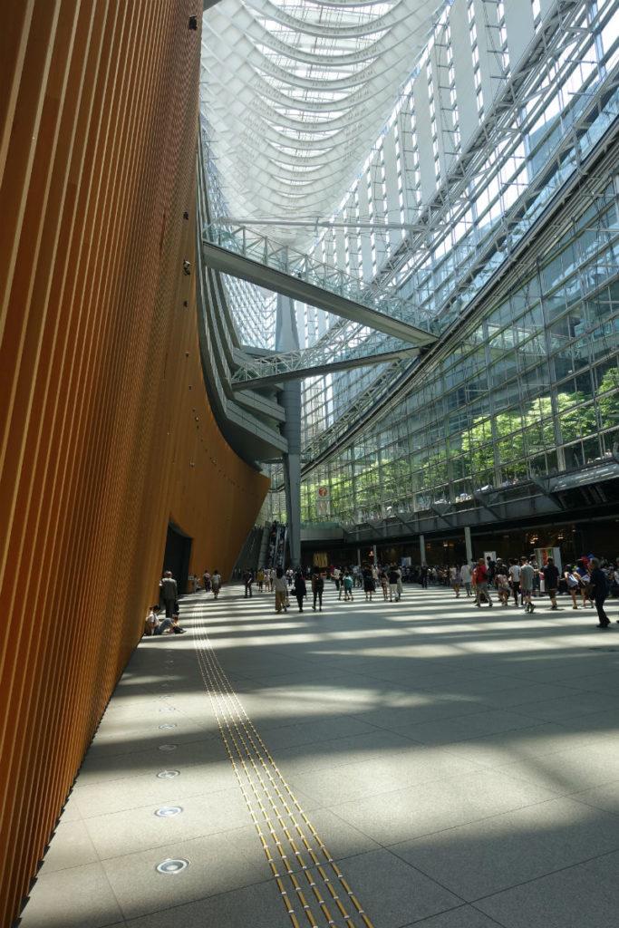 東京私立中学合同相談会 ガラス棟 ロビーギャラリー