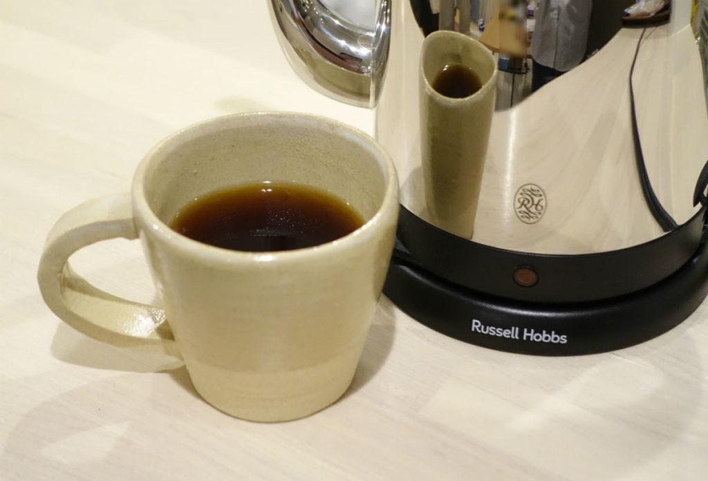 Russell Hobbs 7410JP とコーヒー