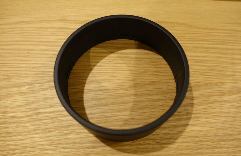 MUJIアナログクロック円柱形外枠