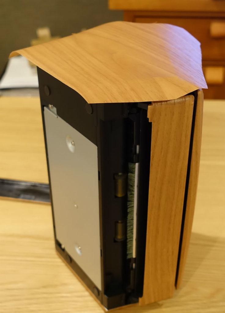 Scan Snap S1500 側面パネルにダイノックフィルム貼り付け