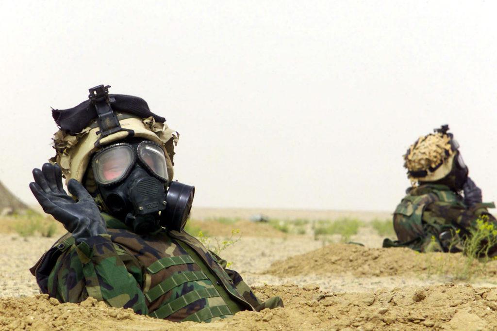 MOPP4装備 米軍