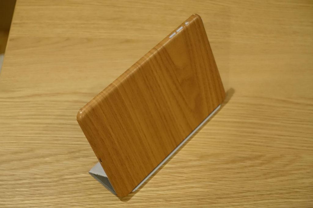 3Mダイノックフィルム施工後のiPad mini