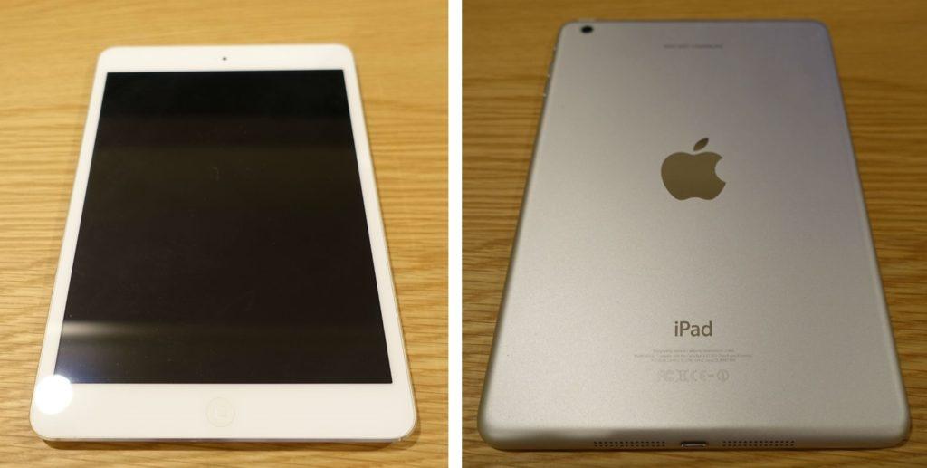 iPad mini 2 ダイノックフィルム 施工前