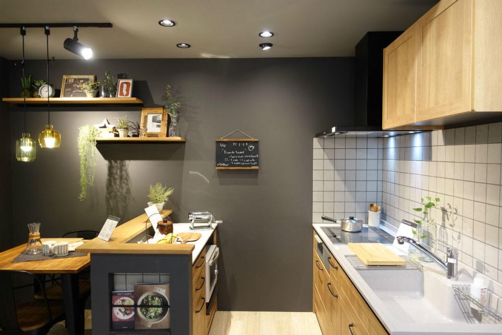 パナソニックリビングショールーム B2F キッチンの例