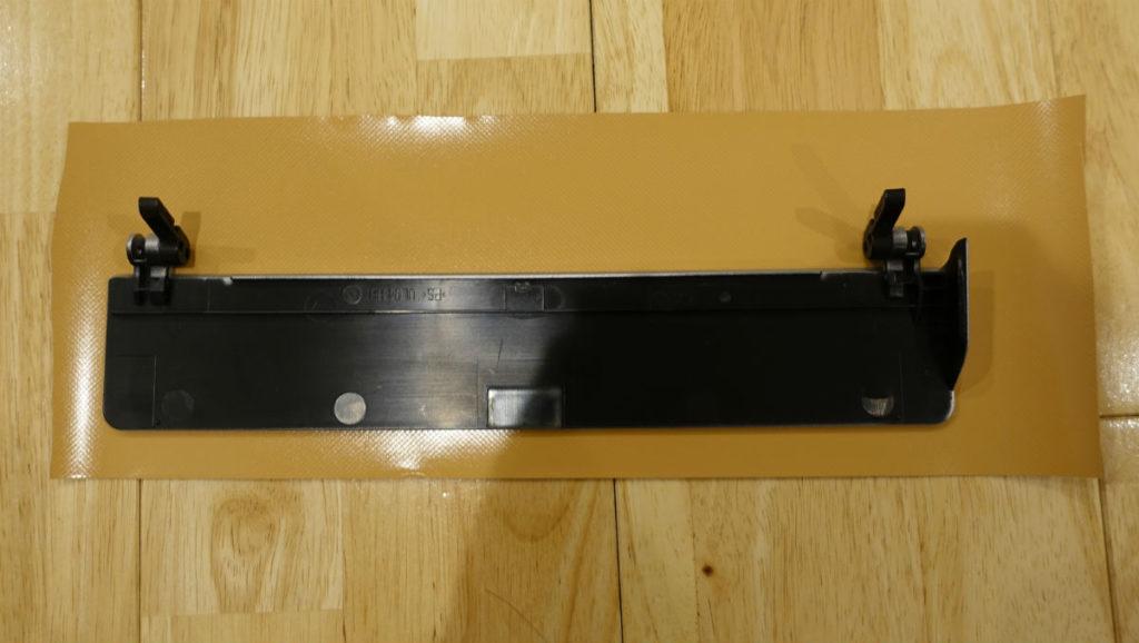 Scan Snap S1500 背面のパネルにダイノックフィルム貼り付け