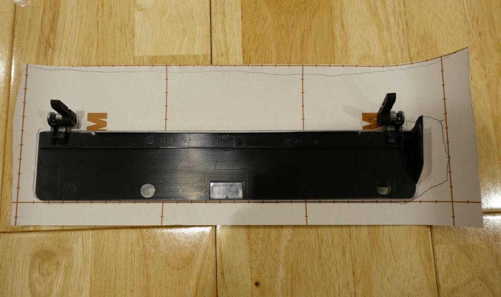 Scan Snap S1500 外せるパーツは外して接着