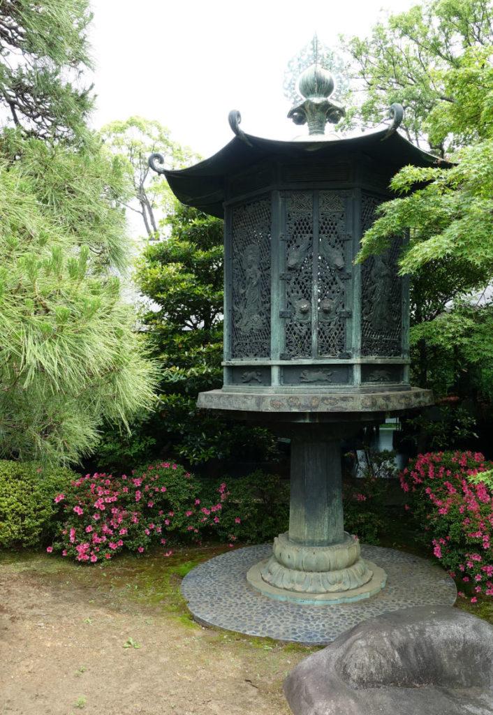 根津美術館 東大寺八角灯篭のレプリカ