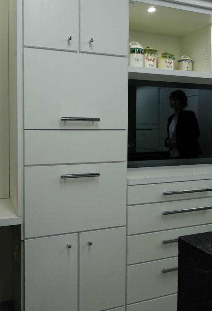 ip20 目白ショールーム キッチンカップボード閉
