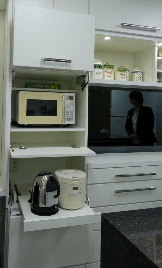 ip20 目白ショールーム キッチンカップボード開