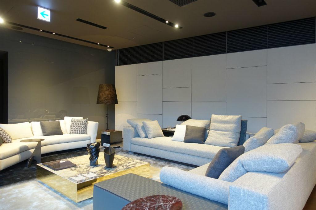 Minotti aoyama SR 2F Sofa