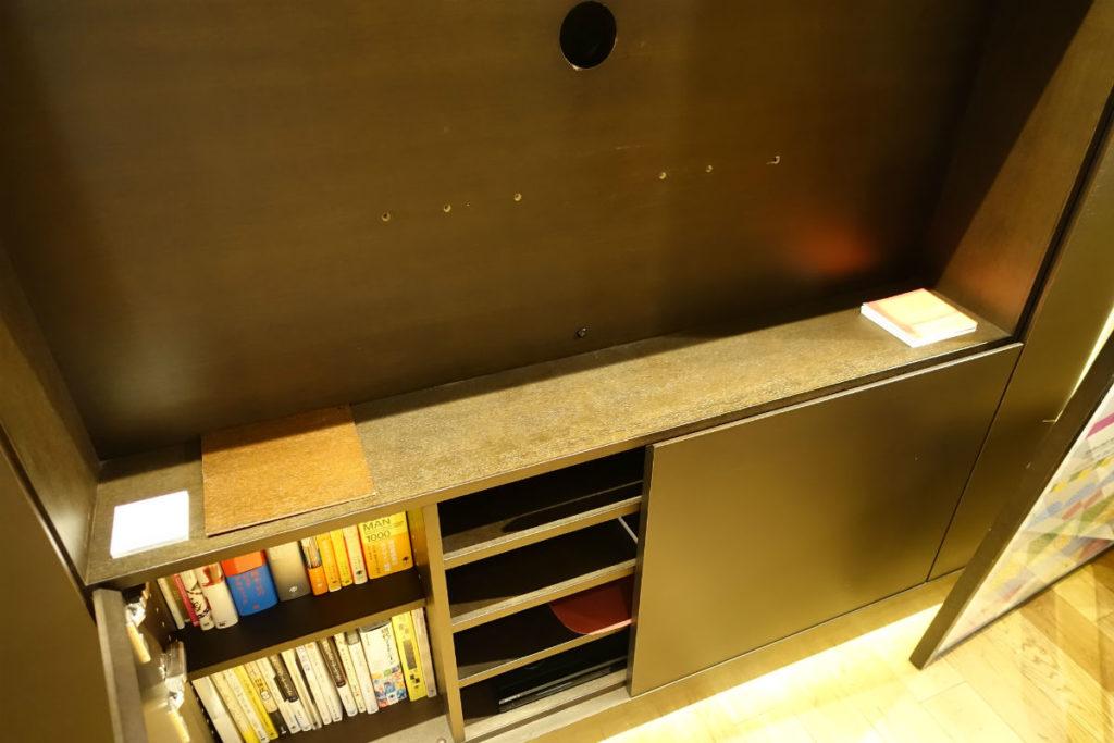 TIME&STYLE HOUSE STORAGE TVボード 赤外線リモコン用のセンサ