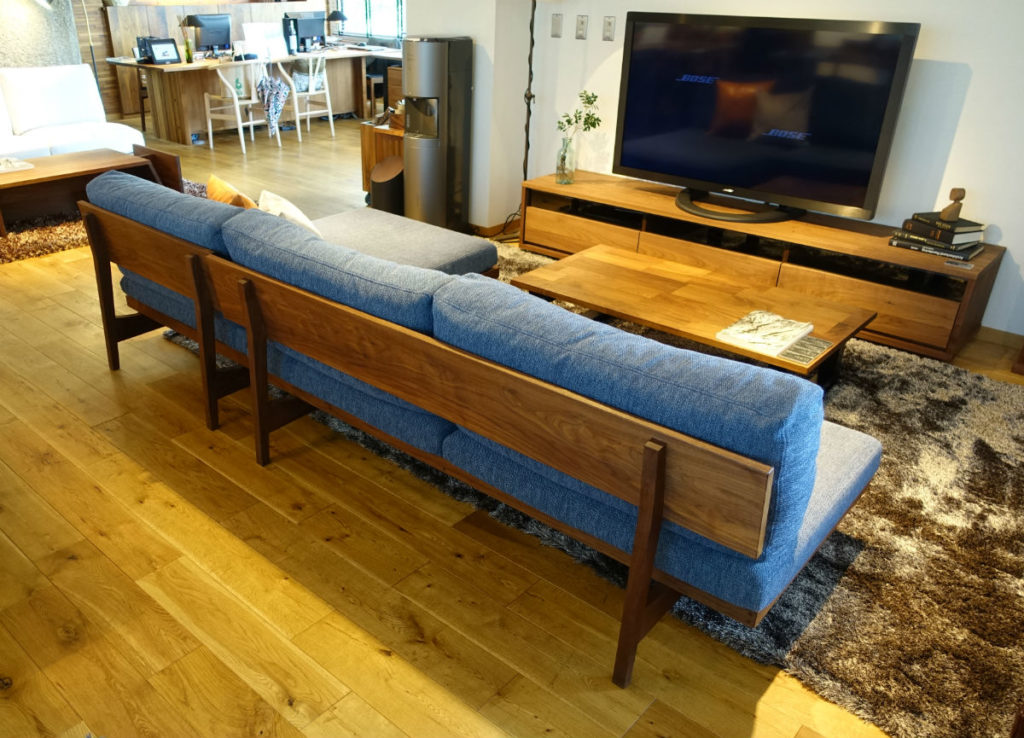 Masterwal 東京 Poro sofa背面