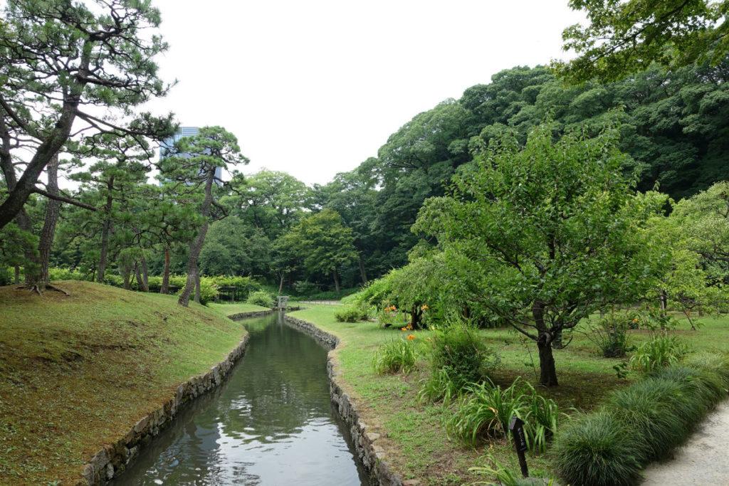 小石川後楽園 神田上水跡