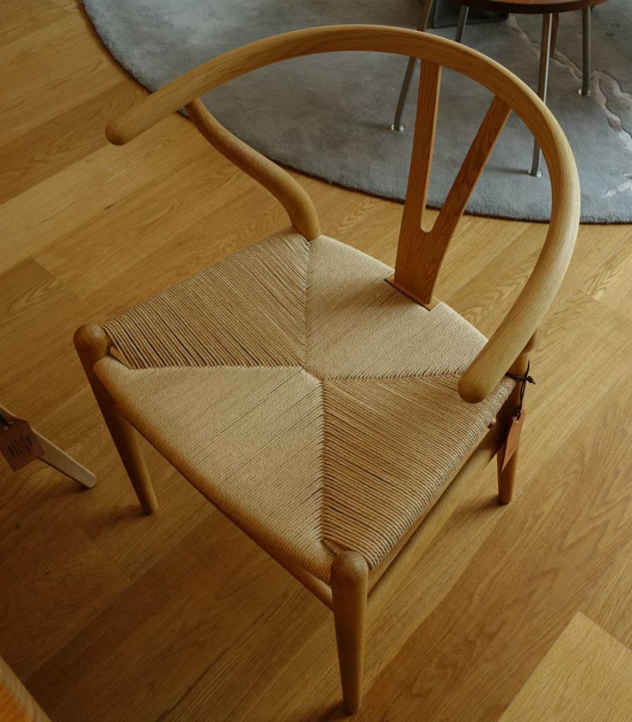Carl hansen 青山 Y chair パルプの座面2