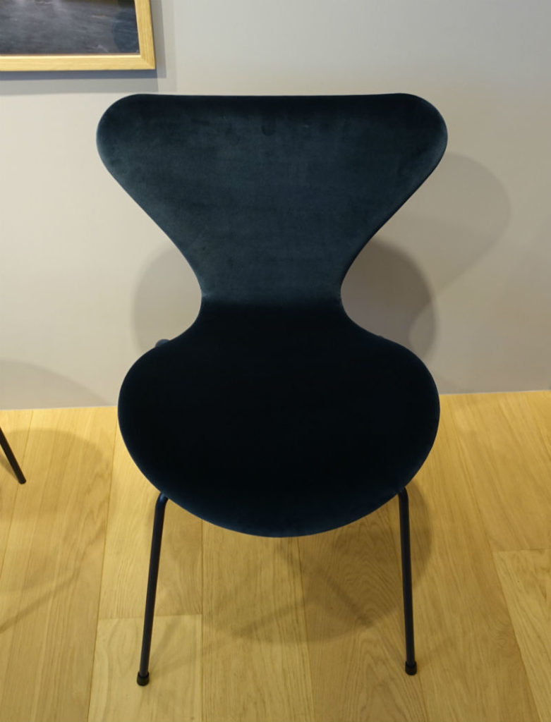 Fritz Hansen 7 chair 布張り