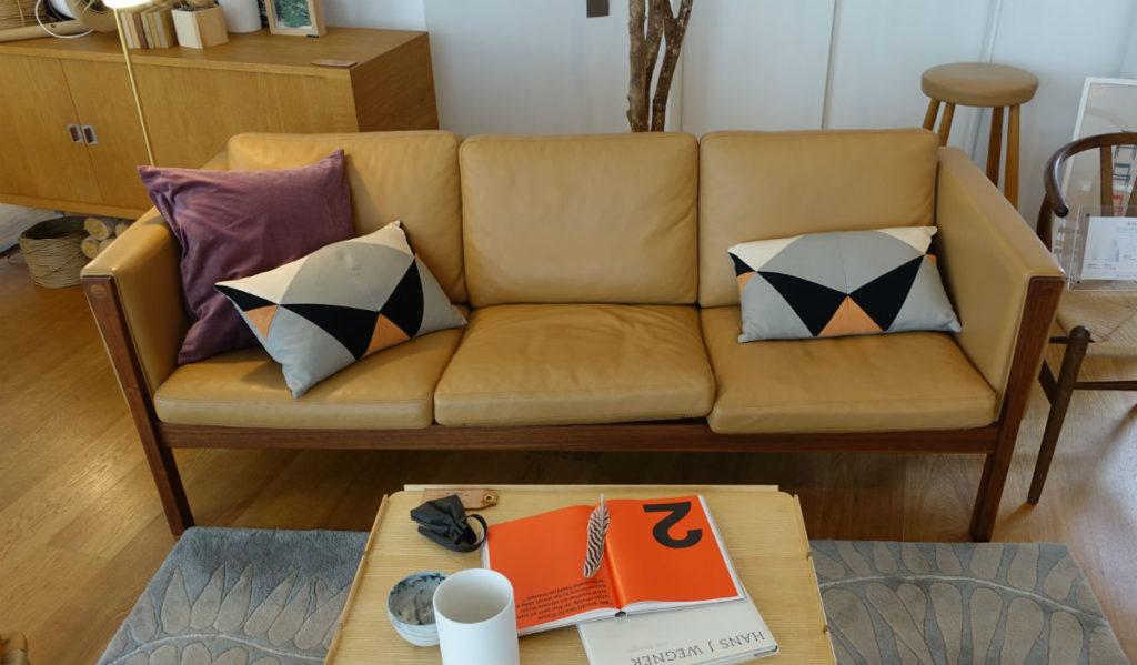 Carl hansen 青山 CH163 sofa