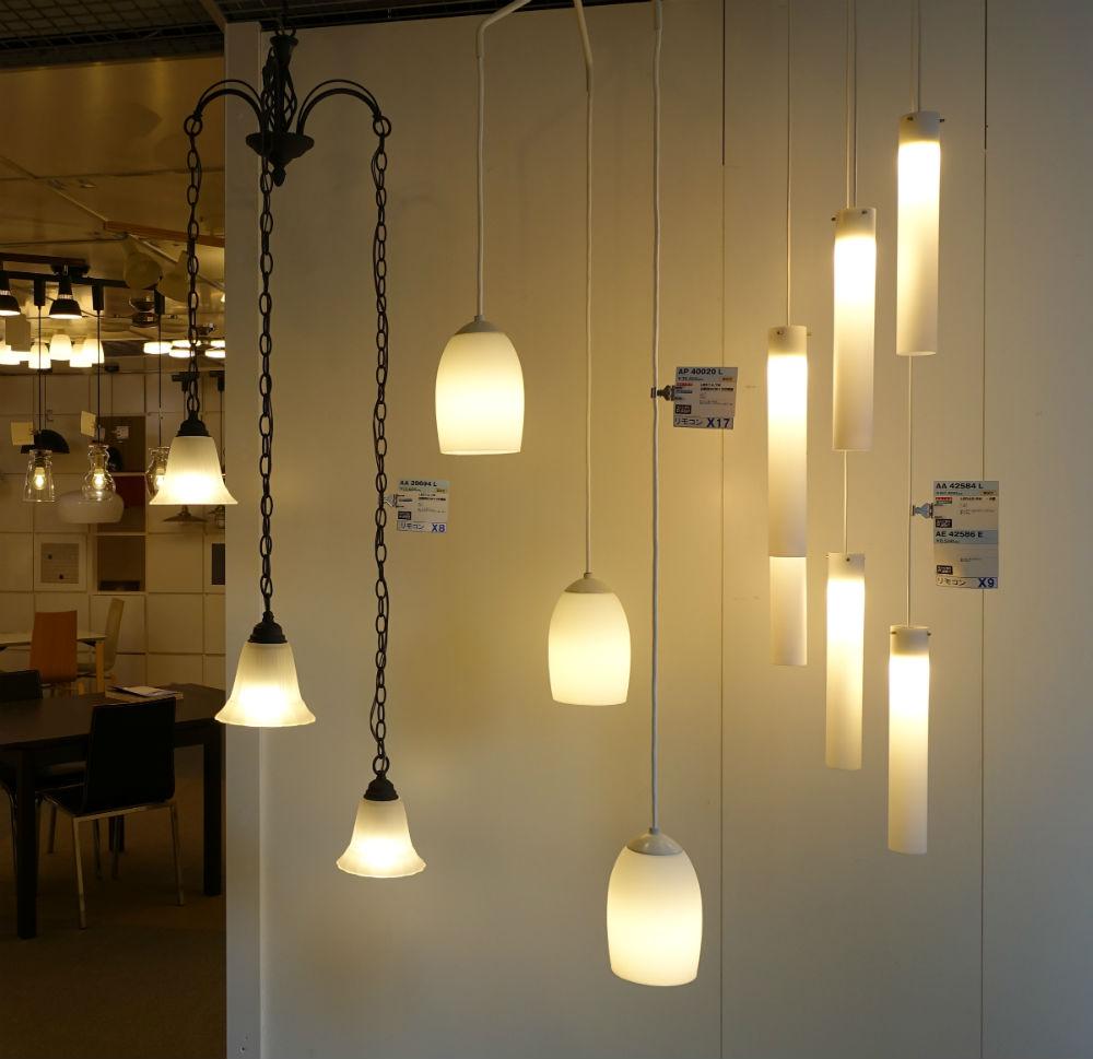 KOIZUMI ショールーム東京 LEDのシャンデリア