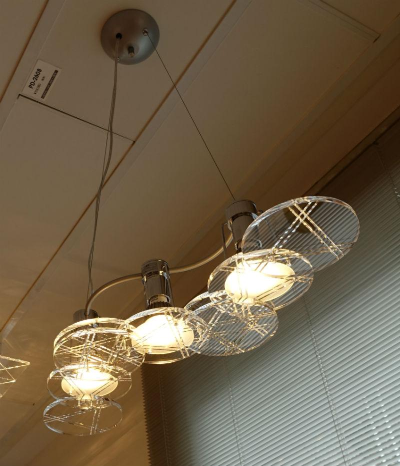 山田照明 ペンダント 2 アクリル板