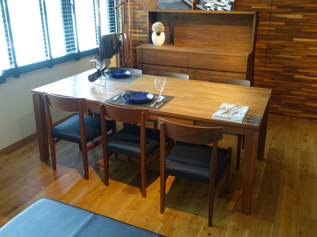 Master Wal 東京 Krone dining table rodak chair