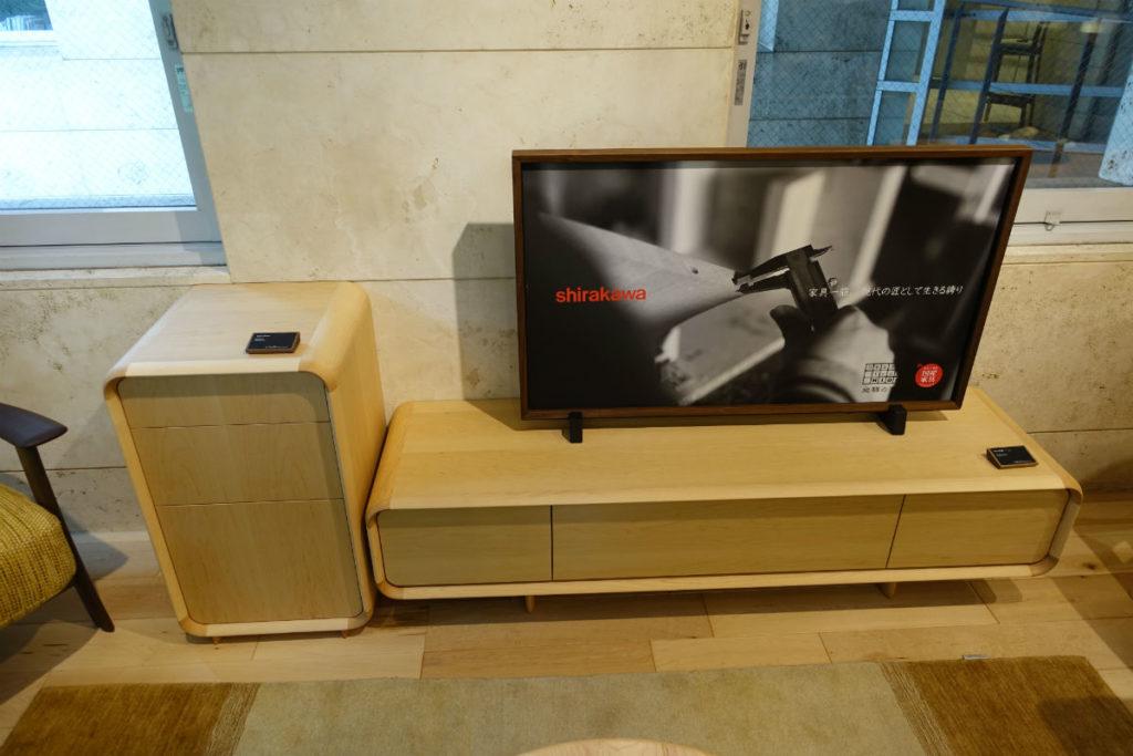 Shirakawa ニューラプト サイドボード TVボード