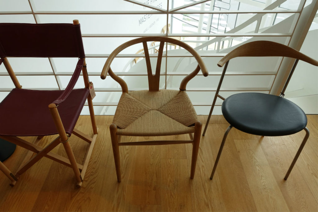 Carl hansen 青山 Folding chair Y chair CH88