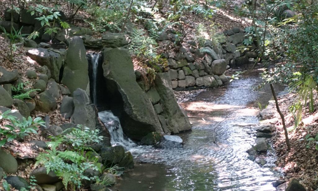 小石川後楽園 寝覚の滝