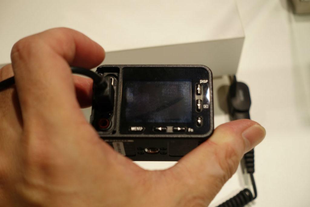 Sony RX0 液晶画面