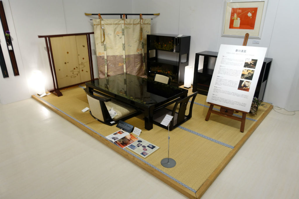 大塚家具有明44 漆の和家具